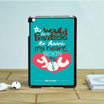 The Fault In Our Stars Tumblr Inspired Custom 2 IPad Mini 1 2 Case Auroid