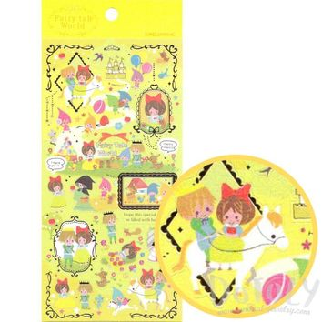 Snow White Princess Fairy Tale Storybook Themed Stickers from Japan