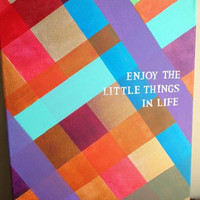CUSTOM Canvas Quote Painting 16x20