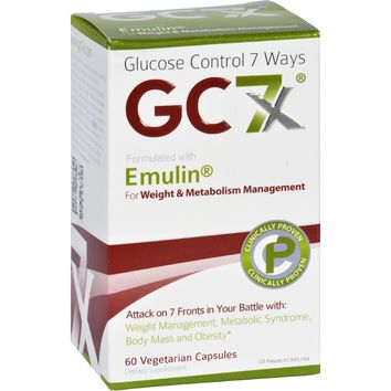 Gc7x Weight And Metabolism - 60 Vegetarian Capsules