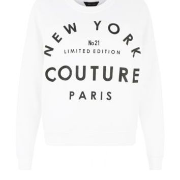 White New York Couture Sweater