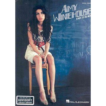 Back to Black: Amy Winehouse (Vocal Piano)