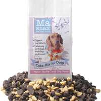 Ma Snax Bake At Home Cake Mix - Double Carob & Peanut