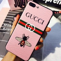 gucci bee iphone phone cover case for iphone 6 6s 6plus 6s plus 7 7plus