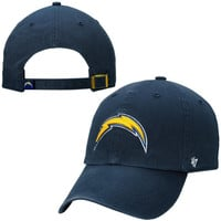 San Diego Chargers '47 Brand Cleanup Big Sizes Adjustable Hat – Navy Blue