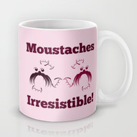 Moustaches are irresistible- seals Mug by mailboxdisco
