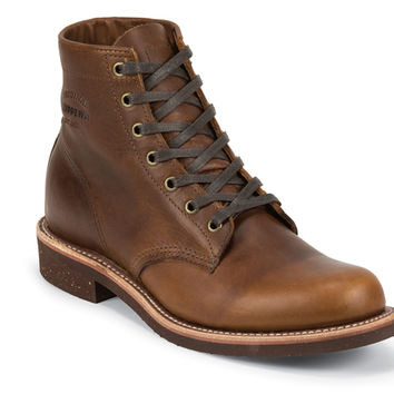 "Original Chippewa | 6"" SERVICE BOOT (TAN RENEGADE)"