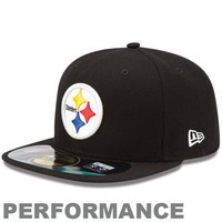 New Era Pittsburgh Steelers 2013 On-Field Player Sideline Performance 59FIFTY Fitted Hat - Black