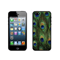 Peacock Feathers iPhone 5 Case - For iPhone 5/5G - Designer TPU Case Verizon AT&T Sprint