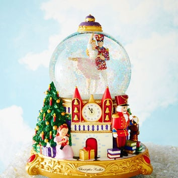 The Nutcracker Suite Snowglobe - Christopher Radko