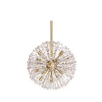 Kate Spade Dickinson Large Pendant Clear/Gold ONE