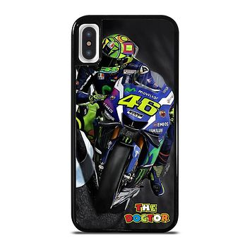 MOTO GP ROSSI THE DOCTOR STYLE iPhone X / XS Case