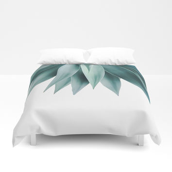 Agave fringe Duvet Cover by Gale Switzer