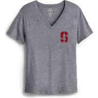 Stanford University Women's Slim Fit V-Neck Short Sleeve T-Shirt | Stanford University