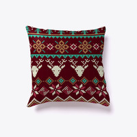Christmas Sweater Pattern Indoor Pillow