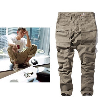 Hip-hop Men Pants Casual Korean Sportswear [6543158915]