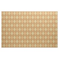 Argyle Pattern, Brown Fabric