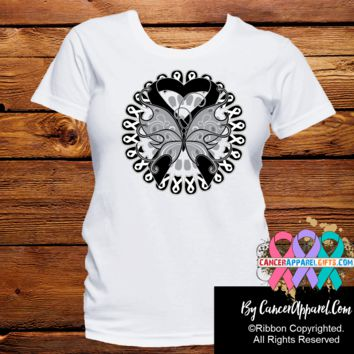 Skin Cancer Stunning Butterfly Shirts