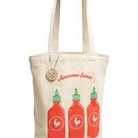 Junior Women's Seltzer 'Awesome Sauce' Tote Bag