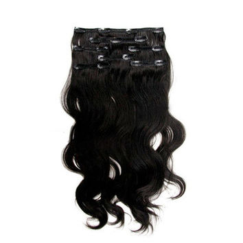 Indian Hair Clip In Extensions Wavy, Straight & Curly