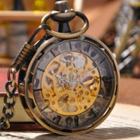 Bronze Pocket Watch