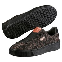 Basket Platform Velvet Rope Women's Sneakers, buy it @ www.puma.com