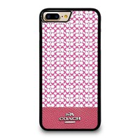 coach new york pink iphone 4 4s 5 5s se 5c 6 6s 7 8 plus x case  number 1