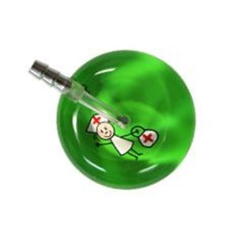 UltraScope Single Stethoscope Stick Nurse Light Green