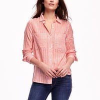 Old Navy Oversized Pocket Shirt