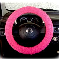 Steering wheel cover for wheel car accessories Neon by CoverWheel