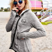 High/Low Hoodie - PINK - Victoria's Secret