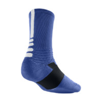 Nike Hyper Elite Crew Basketball Socks - Game Royal