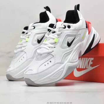 Nike WMNS M2K Tekno Popular Men Casual Sport Running Shoes Sneakers White