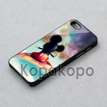 disney mickey mouse galaxy nebula Case For iPhone 4/4s, iPhone 5/5S/5C, Samsung S3 i9300, Samsung S4 i9500