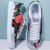 shosouvenir:Gucci Ace embroidered low-top sneaker