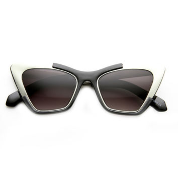 MODERN DRAMA CAT EYE SUNGLASSES