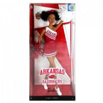 U Of Arkansas African American Barbie (pack of 1 EA)