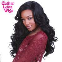 Lace Front Peek-A-Boo - Black -00537