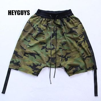 Men Cargo Shorts New Army Camouflage Shorts Men Cotton Loose Work Casual Short Pants one set