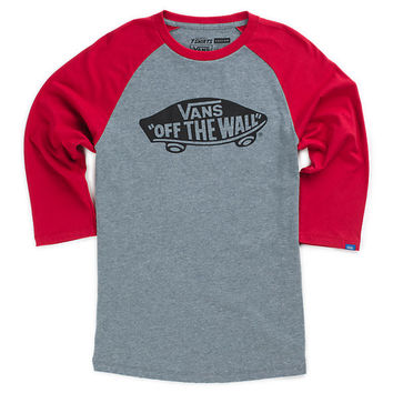 Boys OTW Raglan T-Shirt | Shop at Vans