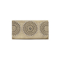 Kachina Spirit Ladies Tri-fold Wallet - Sand