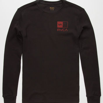 Rvca Right Box Mens Thermal Black  In Sizes