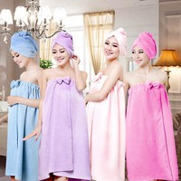 Microfiber  Absorbent Towel Bathrobe Towels