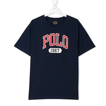 Polo Ralph Lauren Children Boy Girl Casual Print Shirt Top Tee