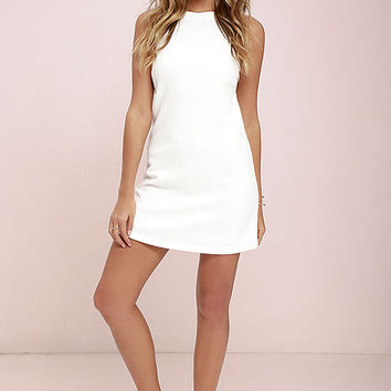 Olive & Oak Dream You Up Ivory Dress