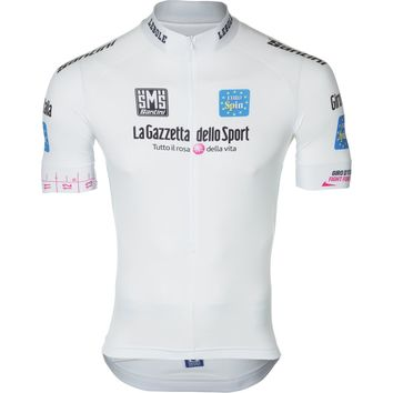 Santini Best Young Rider Jersey - Short Sleeve - Men's White,