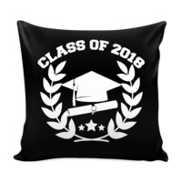 Class of 2018 Pillow Cover (Free Shipping)
