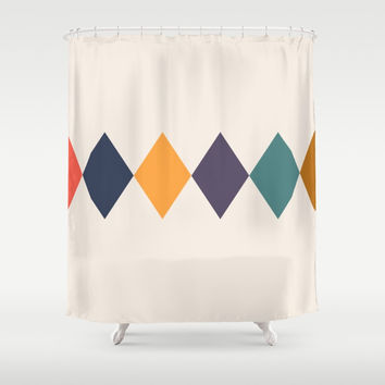 Shine Bright Like A Diamond Shower Curtain by spaceandlines