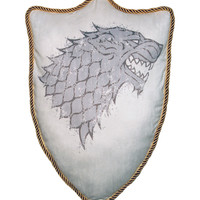 Game Of Thrones Stark House Sigil Pillow
