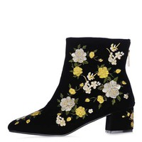 BLOSSOM Embroidered Boots